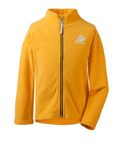 DIDRIKSONS Kids Microfleece Jacket 502673 MONTE, Oat Yellow 4