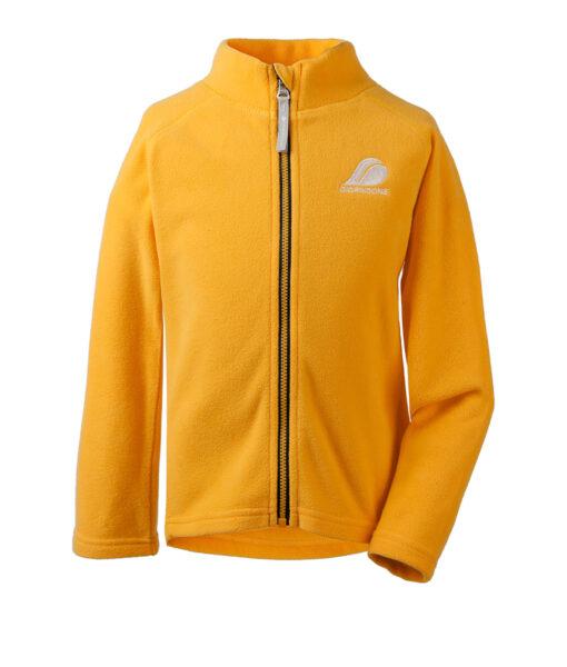 DIDRIKSONS Kids Microfleece Jacket 502673 MONTE, Oat Yellow 4