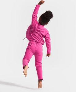 DIDRIKSONS Kids Microfleece Jacket 502673 MONTE, Plastic Pink 1