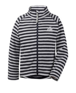 DIDRIKSONS Kids Microfleece Jacket 502674 MONTE PRINTED, Navy Simple Stripe 5