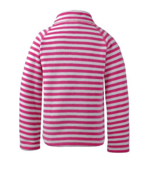 DIDRIKSONS Kids Microfleece Jacket 502674 MONTE PRINTED, Plastic Pink Simple Stripe 3