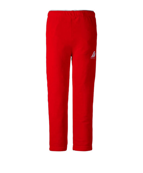 DIDRIKSONS Kids Microfleece Pants 502675 MONTE, Chili Red 3