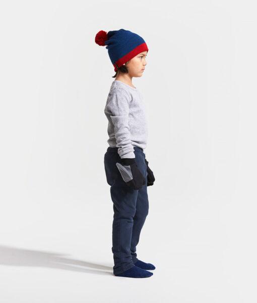 DIDRIKSONS Kids Microfleece Pants 502675 MONTE, Navy
