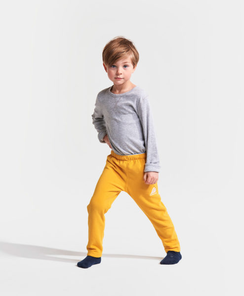 DIDRIKSONS Kids Microfleece Pants 502675 MONTE, Oat Yellow 1