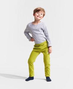 DIDRIKSONS Kids Microfleece Pants 502675 MONTE, Seagrass Green 1