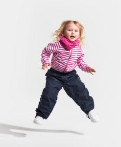 DIDRIKSONS Kids Neck Warmer 502660 RUFF, Plastic Pink 1