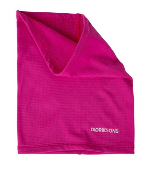 DIDRIKSONS Kids Neck Warmer 502660 RUFF, Plastic Pink