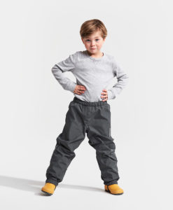 DIDRIKSONS Kids Pants 502631 VIN, Coal Black