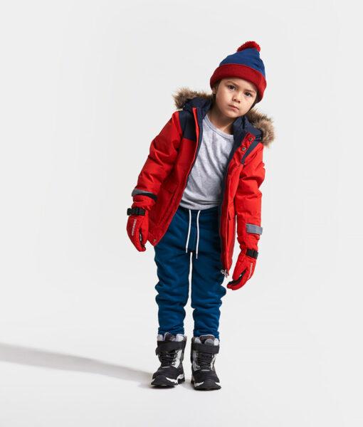 DIDRIKSONS Kids Parka 502679 KURE, Chili Red 1
