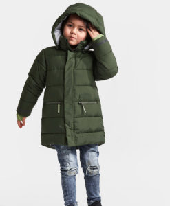 DIDRIKSONS Kids Puff Jacket 502591 GADDAN, Spurce Green 124.99 1