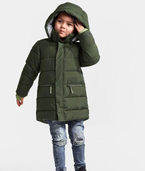 DIDRIKSONS Kids Puff Jacket 502591 GADDAN, Spurce Green 124.99 1