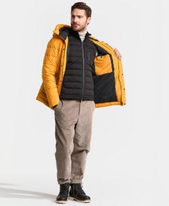 DIDRIKSONS Men Jacket 502807 URBAN, Yellow Ochre 2