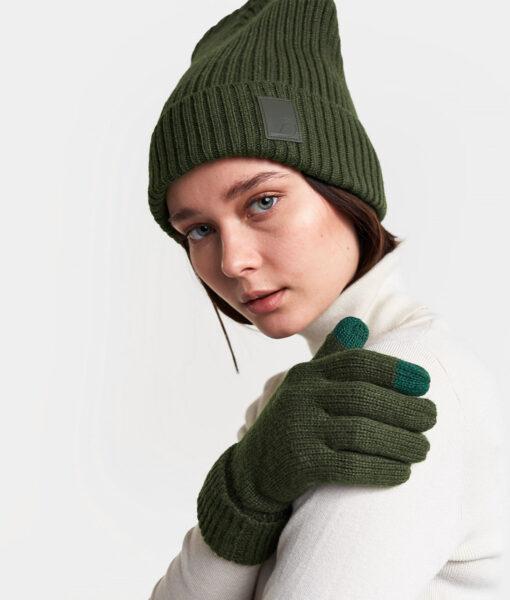 DIDRIKSONS Unisex Beanie 502850 MAJORNA, Spurce Green 1