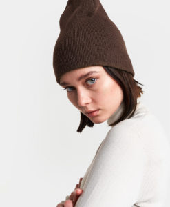 DIDRIKSONS Unisex Beanie 502852 OLIVEDAL, Driftwood Brown