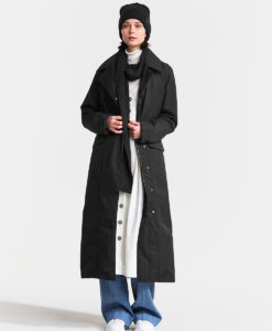 DIDRIKSONS Women Coat 502764 HANNA, Black 319.99