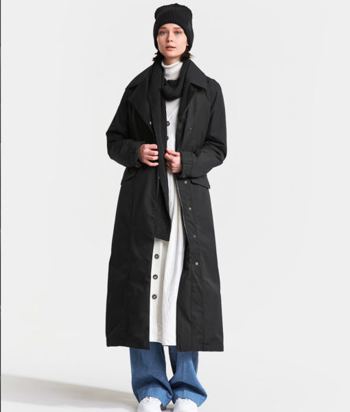 DIDRIKSONS Women Coat 502764 HANNA, Black 319.99