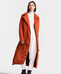 DIDRIKSONS Women Coat 502764 HANNA, Ember Red 319.99