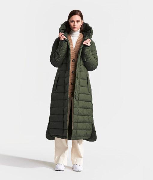 DIDRIKSONS Women Coat 502771 STELLA, Spurce Green 299.99