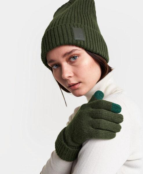 DIDRIKSONS Women Gloves 502849 HEDEN, Spurce Green 21.99