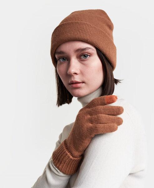 DIDRIKSONS Women Gloves 502849 HEDEN, Toffee Brown 21.99
