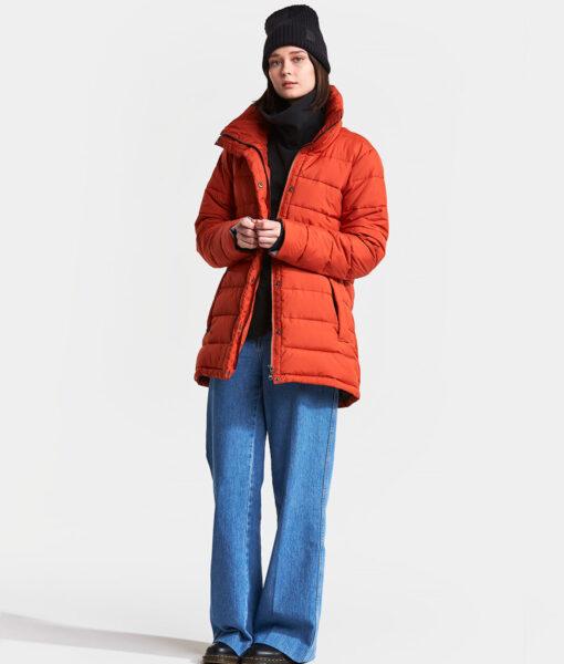 DIDRIKSONS Women Jacket 502806 HEDDA, Ember Red 229.99 1