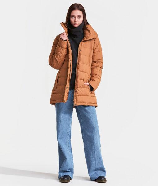 DIDRIKSONS Women Jacket 502806 HEDDA, Toffee Brown 229.99 1