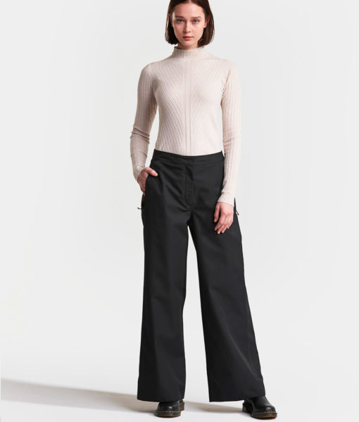 DIDRIKSONS Women Pants 502765 MALVINA, Black 159.99