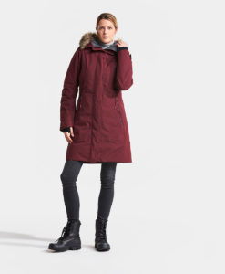 DIDRIKSONS Women Parka 502712 MEA, Anemon Red 1