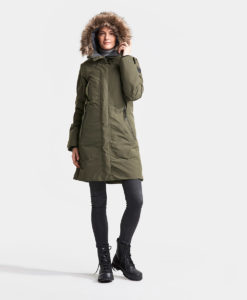 DIDRIKSONS Women Parka 502712 MEA, Crocodile Green 3