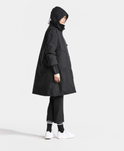 DIDRIKSONS Women Parka 502713 AINO, Black 4 copy