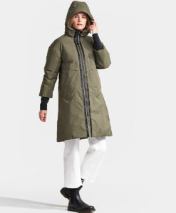 DIDRIKSONS Women Parka 502713 AINO, Crocodile Green 4