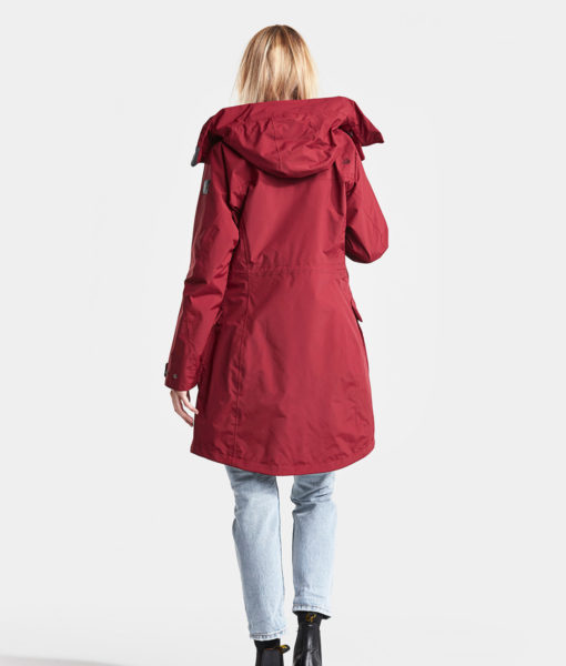 DIDRIKSONS Women Parka 502716 THELMA, Element Red 229.99 1