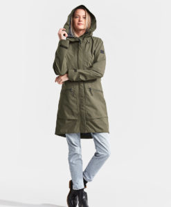 DIDRIKSONS Women Parka 502763 ILMA, Crocodile Green 199.99 2