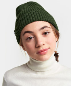DIDRIKSONS Youth Beanie 502842 NILSON, Spurce Green