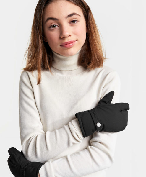 DIDRIKSONS Youth Gloves 502843 PALM, Black