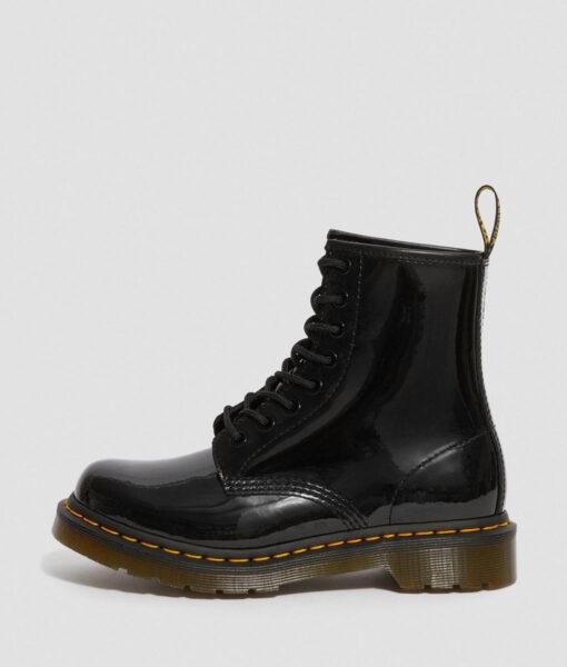 DR MARTENS Women Ankle Boots 11821011 1460 PATENT, Black 4
