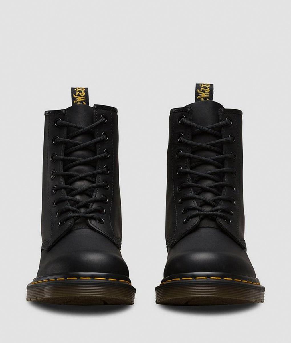 Los Angeles Darmowa dostawa oficjalny dostawca DR MARTENS Women Ankle Boots 11822003 1460 GREASY, Black
