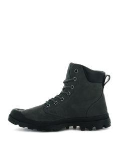 PALLADIUM Men Ankle Boots 73231 PAMPA CUFF WP LUX LTHR, Forged Iron 1
