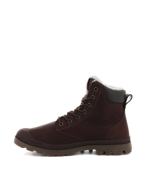 PALLADIUM Unisex Ankle Boots 72992 PAMPA SPORT CUFF WPS LTHR, Burnt Ochre 1