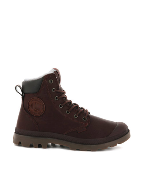 PALLADIUM Unisex Ankle Boots 72992 PAMPA SPORT CUFF WPS LTHR, Burnt Ochre 2