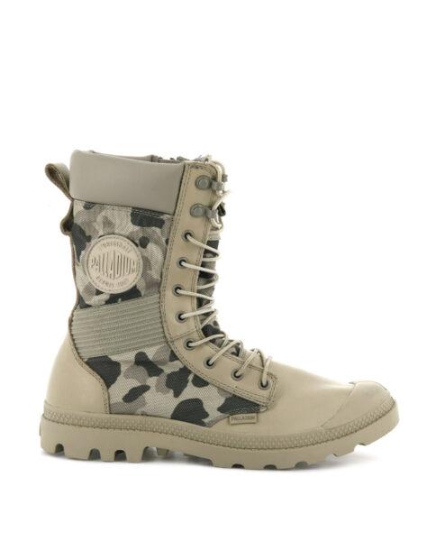 PALLADIUM Unisex Ankle Boots 76480 TACT OPS OU, Safari 1