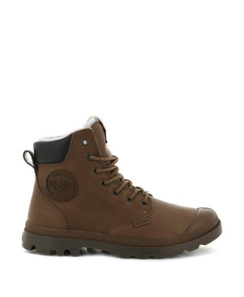 PALLADIUM Women Ankle Boots 72992 PAMPA SPORT CUFF WPS LTHR, Cathay Spice 1