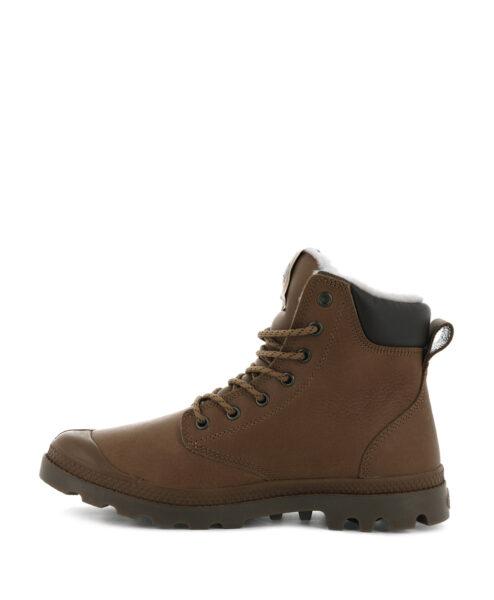 PALLADIUM Women Ankle Boots 72992 PAMPA SPORT CUFF WPS LTHR, Cathay Spice 2