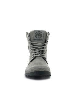 PALLADIUM Women Ankle Boots 72992 PAMPA SPORT CUFF WPS LTHR, Moonrock 1