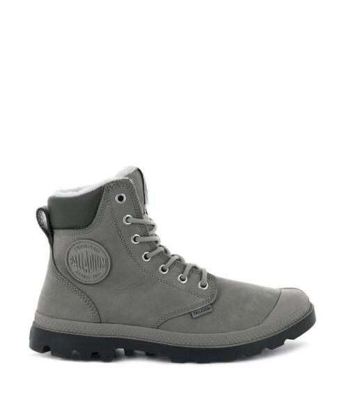PALLADIUM Women Ankle Boots 72992 PAMPA SPORT CUFF WPS LTHR, Moonrock 2
