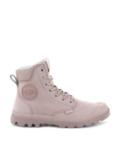 PALLADIUM Women Ankle Boots 72992 PAMPA SPORT CUFF WPS LTHR, Rose Dust