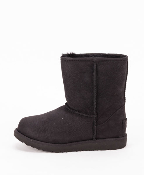 UGG Kids Ankle Boots 1019646K CLASSIC SHORT II WP, Black