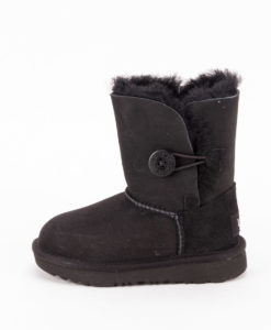 UGG Toddlers Ankle Boots 1017400T BAILEY BUTTON II, Black