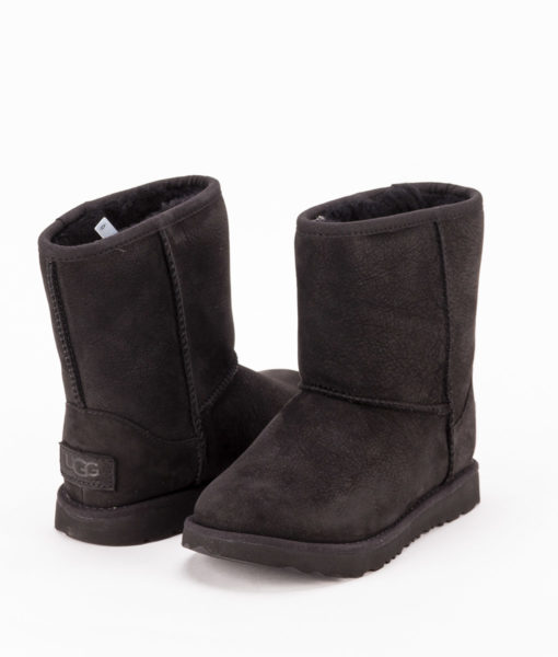 UGG Toddlers Ankle Boots 1019646T CLASSIC SHORT II WP, Black 1