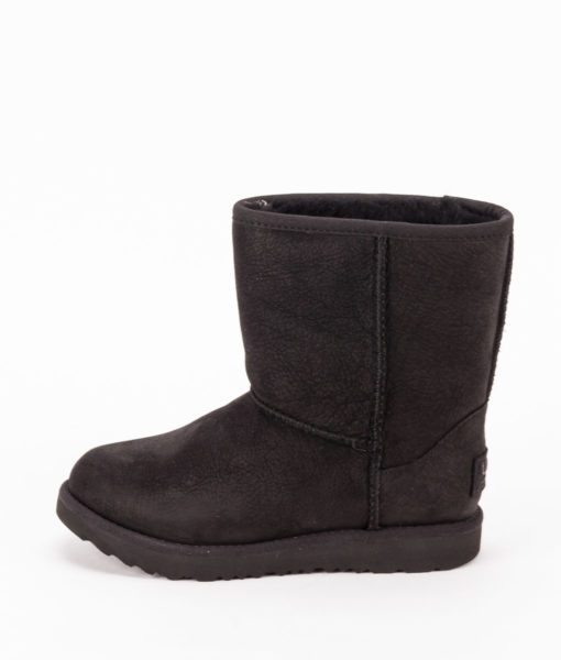 UGG Toddlers Ankle Boots 1019646T CLASSIC SHORT II WP, Black